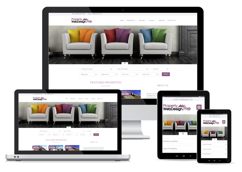 Responsive Letting Agency Website Designs