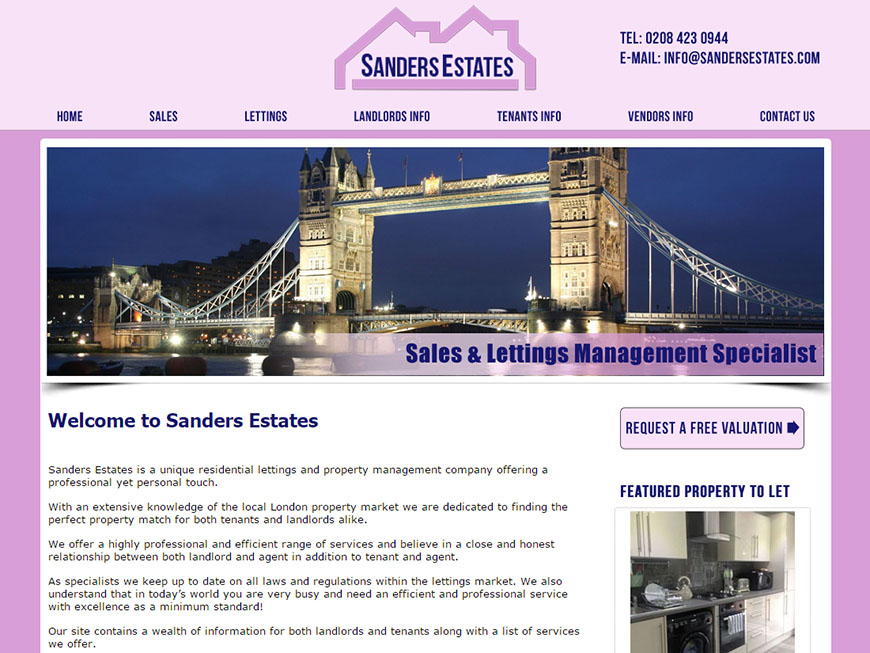 Letting Agent Website Design - From £297 : Property Web Design PRO