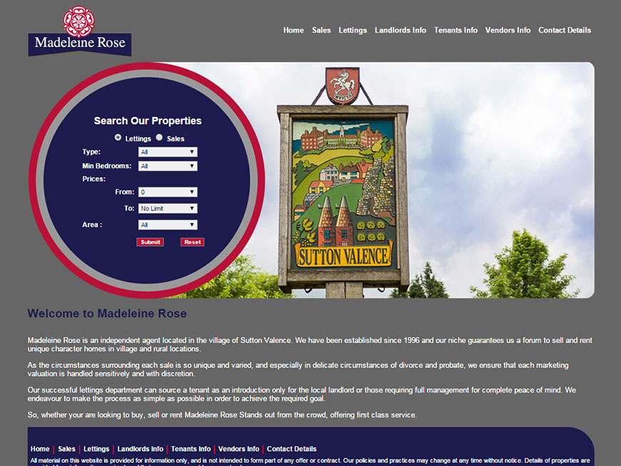 Letting Agent Website Design - From £297 : Property Web